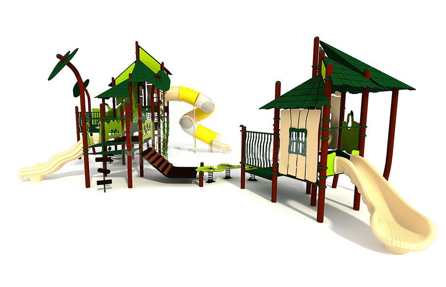 Приятная новость. Весеннее обновление ассортимента детских площадок