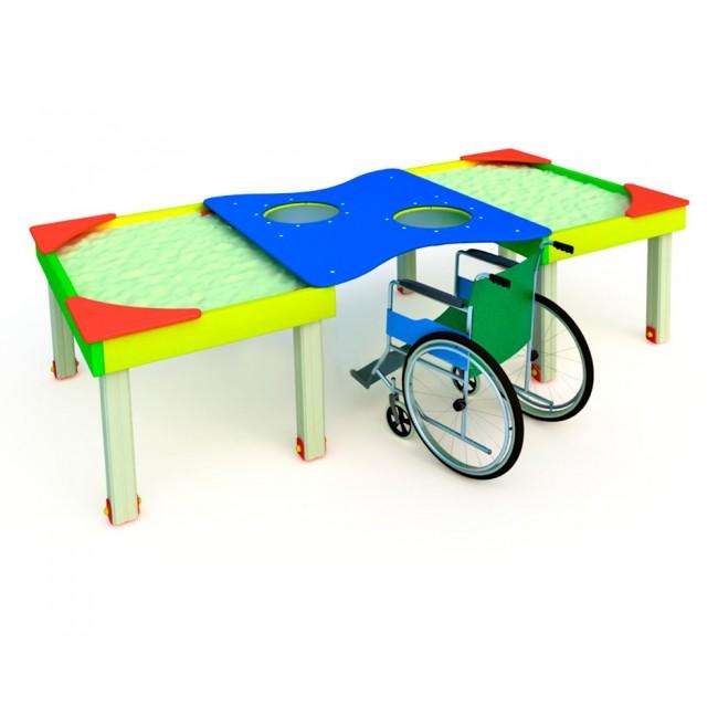 Обустройство игровой площадки для детей с ограниченными возможностями