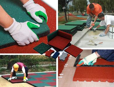 Рекомендации по устройству безопасного покрытия детской площадки